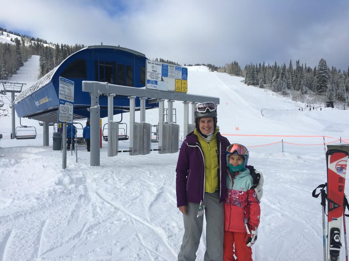 Family Ski Trip to Solitude Mountain