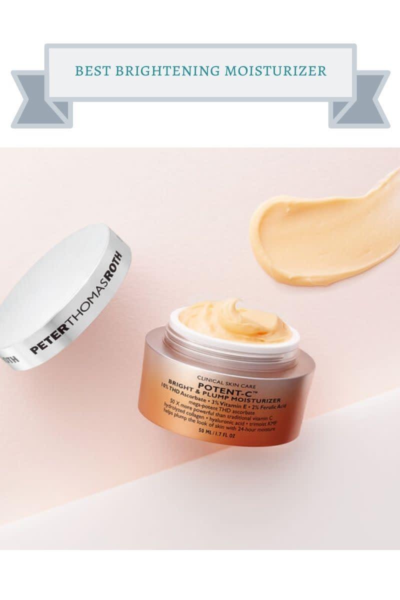 best brightening moisturizer