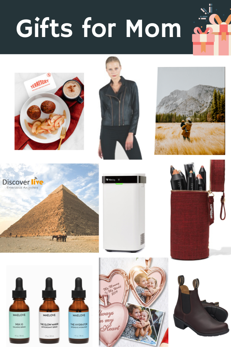 Great holiday gifts for mom