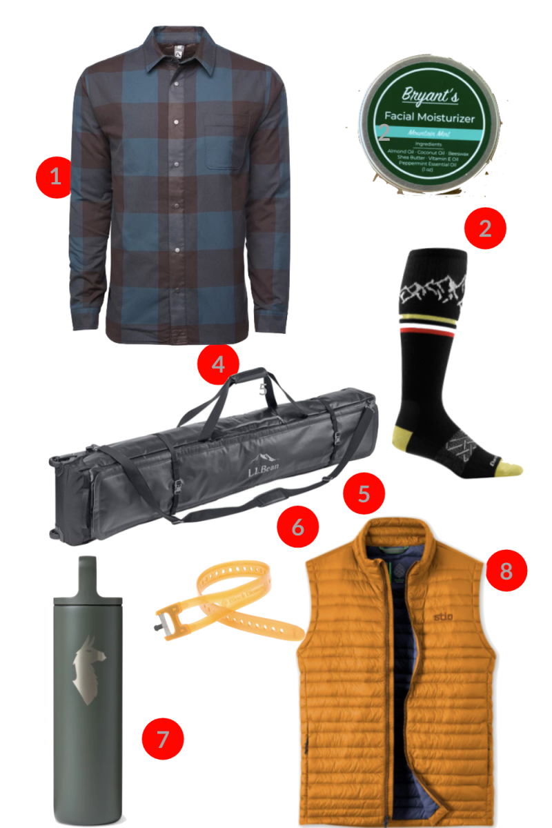 Ski Gear Gifts for Guys