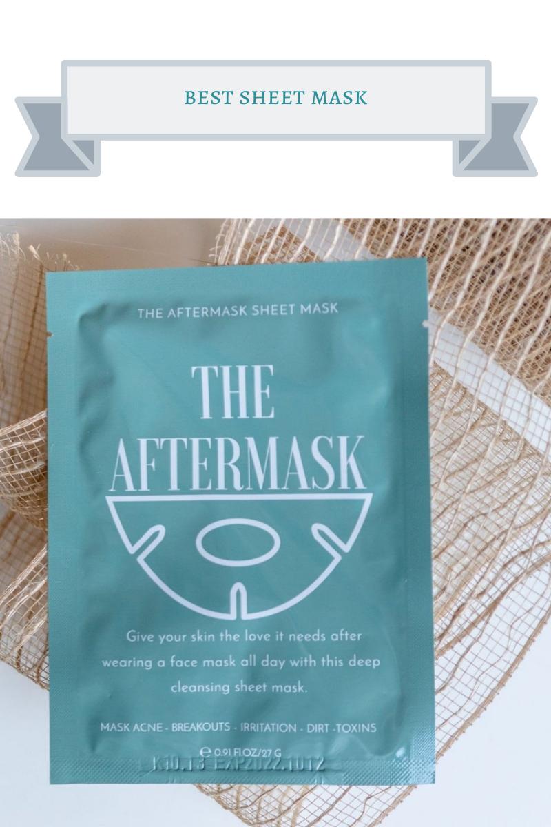best sheet mask