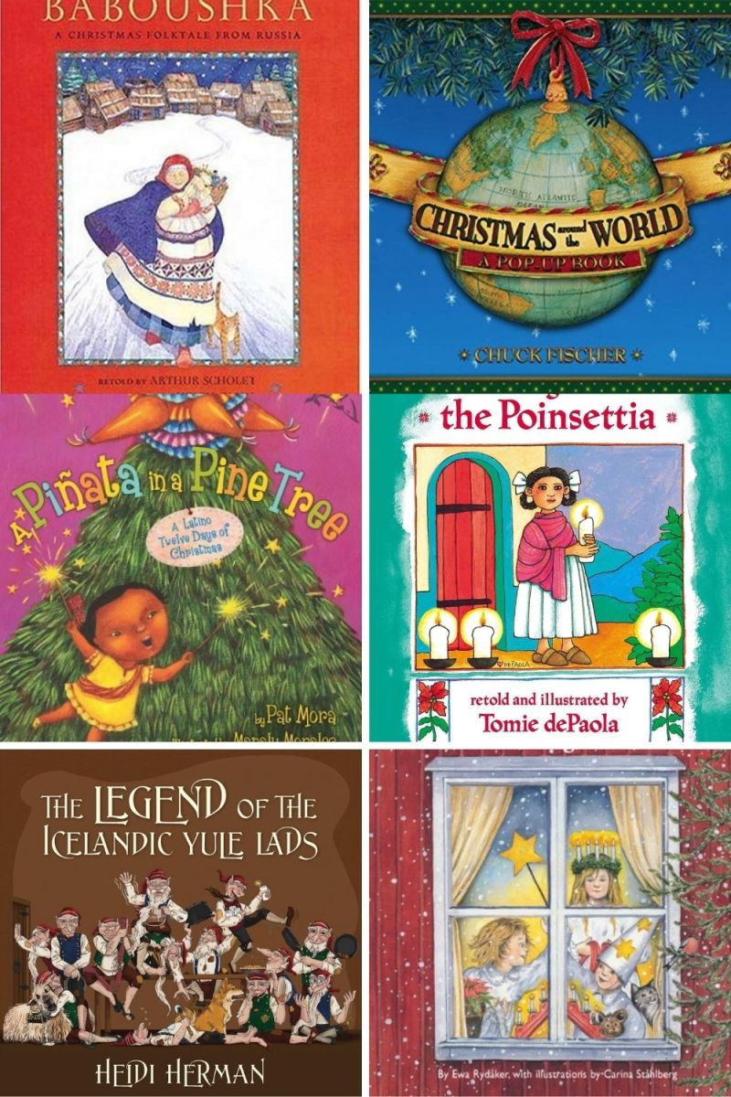 Christmas Traditions Around the World Books