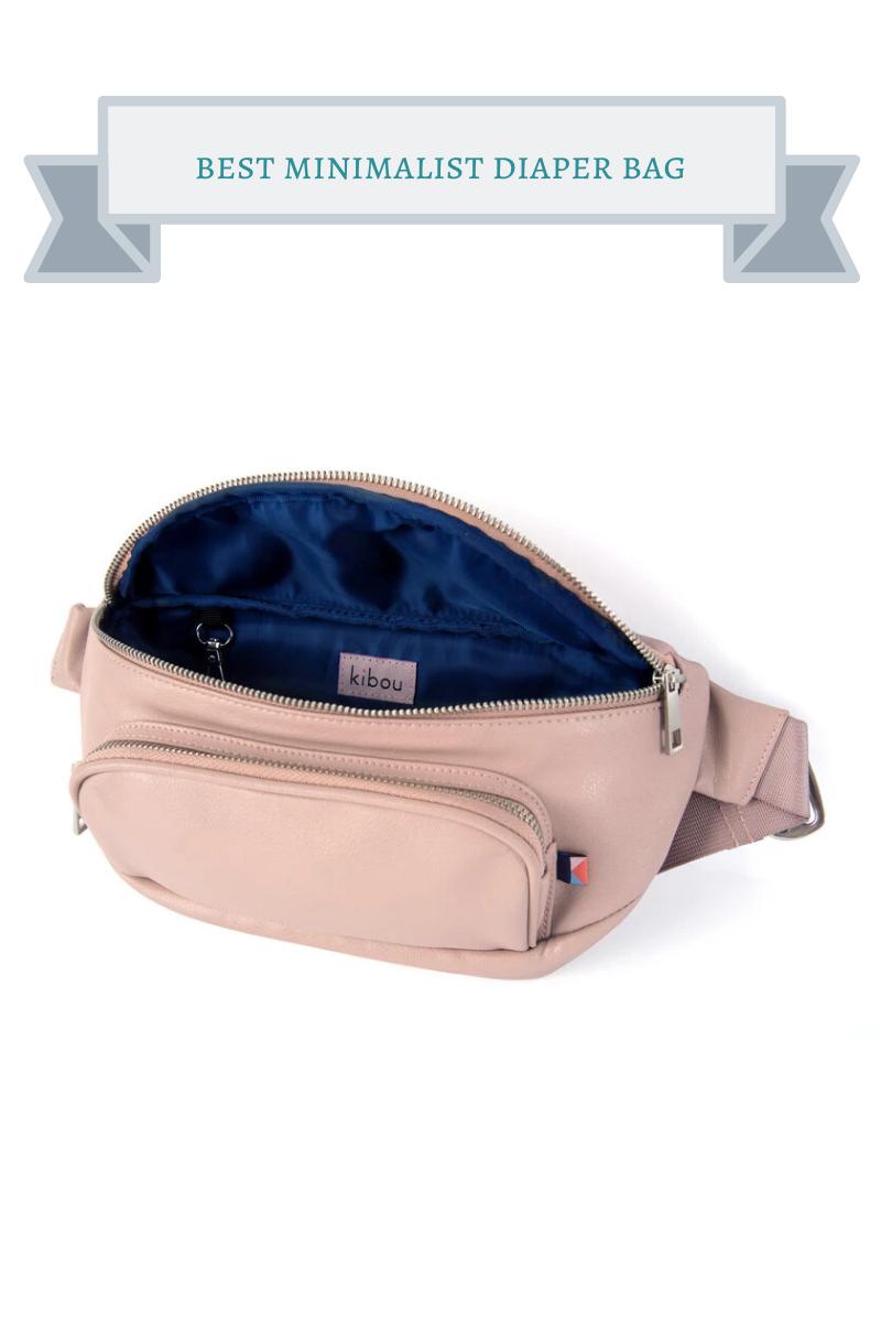 best minimalist diaper bag