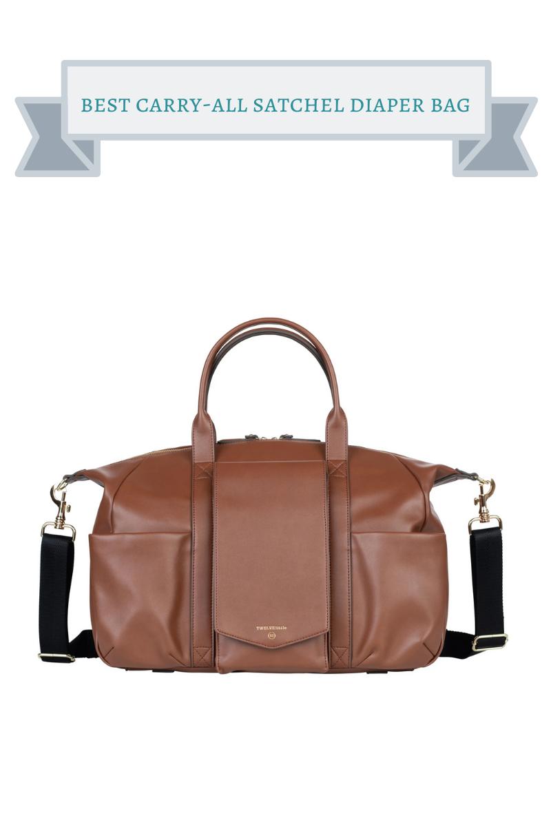 best carry-all satchel diaper bag
