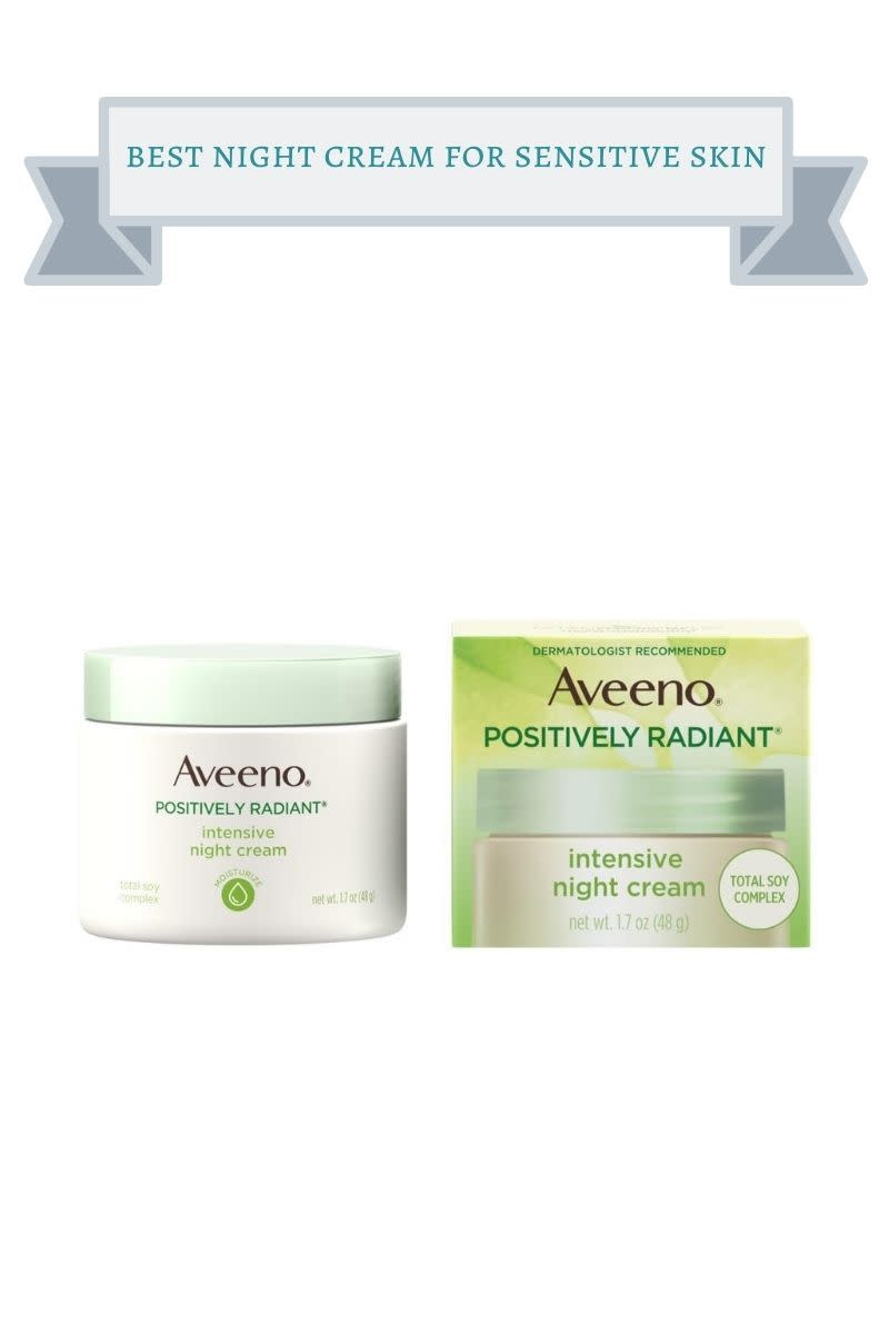 best night cream for sensitive skin