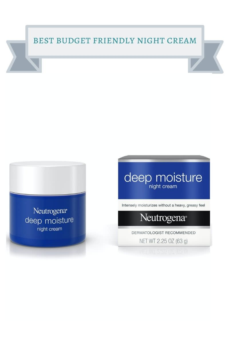 best budget friendly night cream