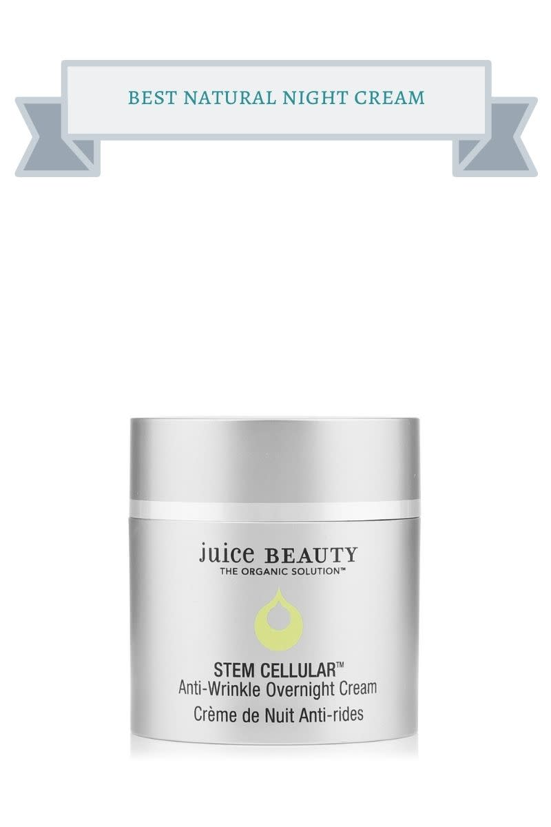 best natural night cream