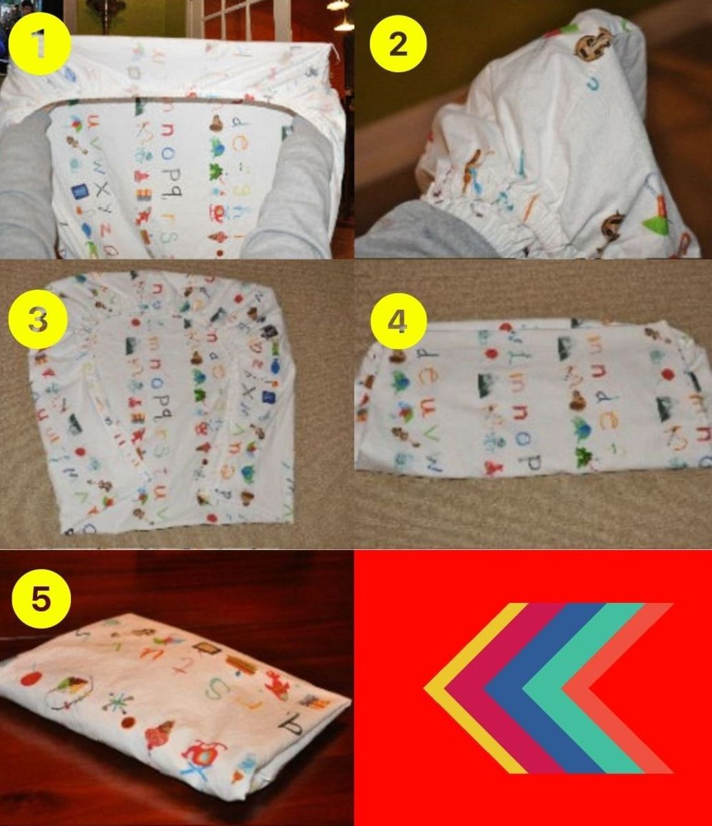How to Fold a Fitted Crib Sheet