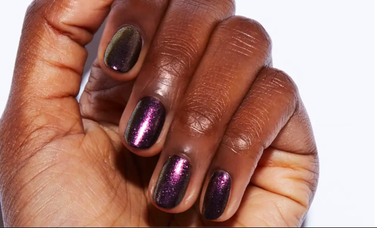 Metallic High Gloss Nails
