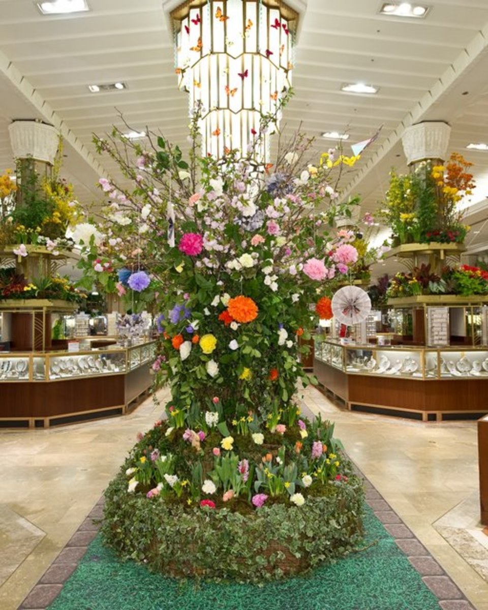 Macy's Flower Show in NYC
