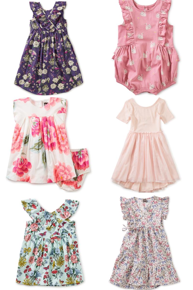 Tea Colletion Spring Dresses for Girls