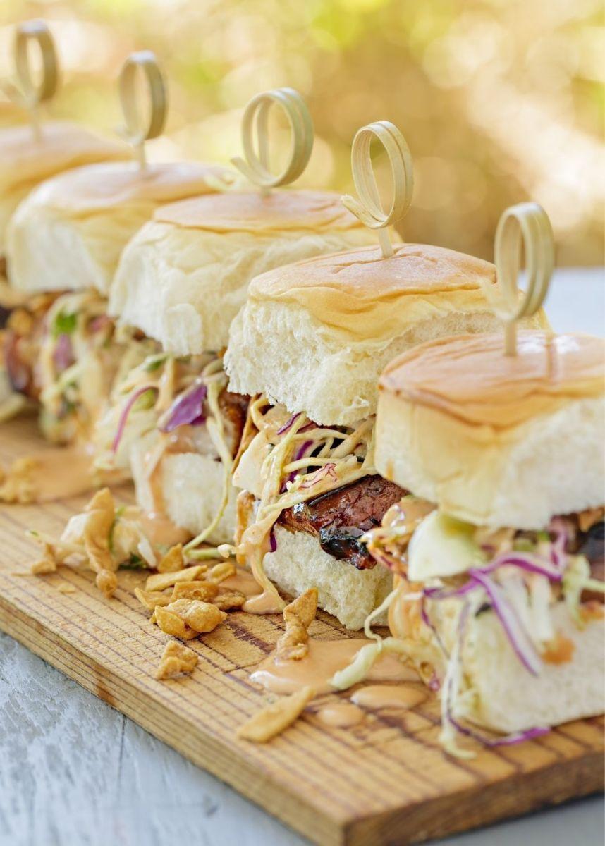 Yummy Dijon BBQ Sliders Recipe
