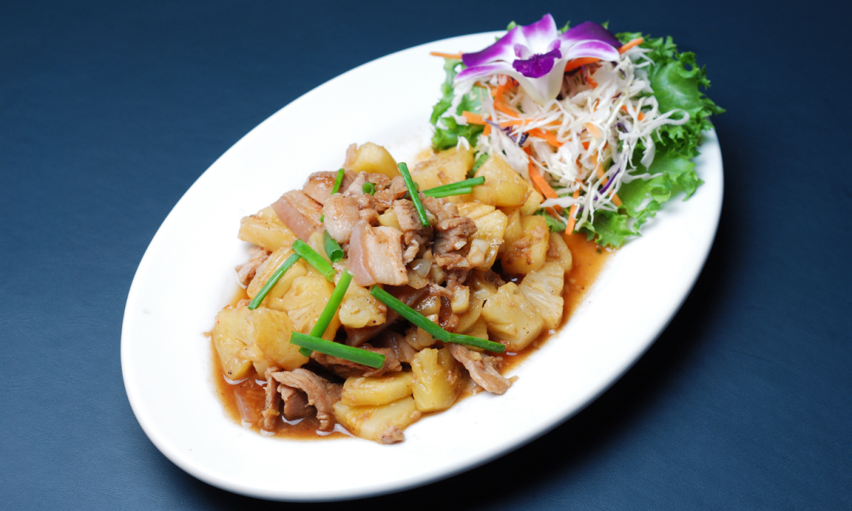 Easy Pork and Pineapple Stir Fry Recipe