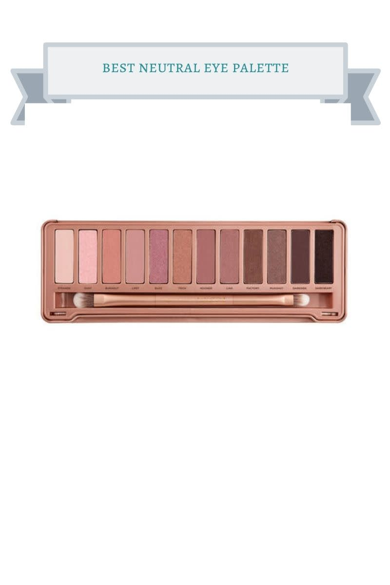 rose gold colored neutral eye palette