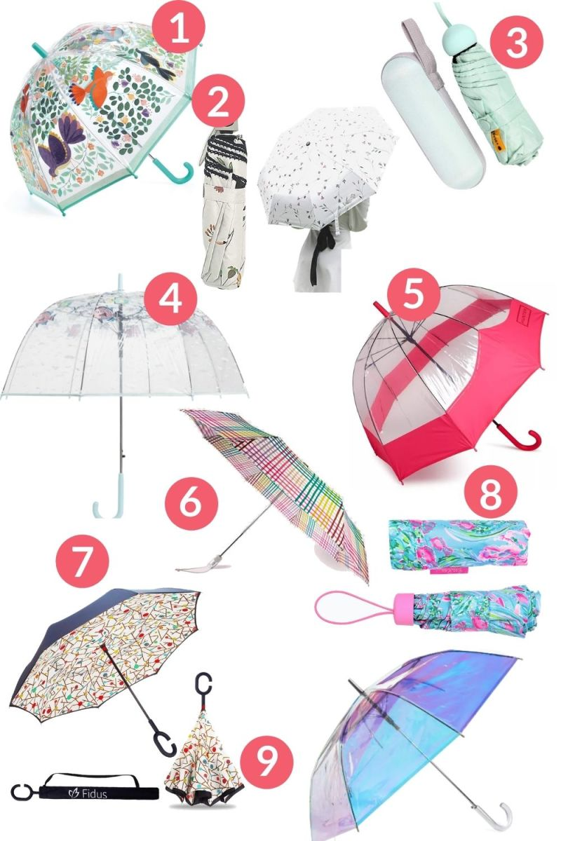 The Cutest Umbrellas for Rain Showers