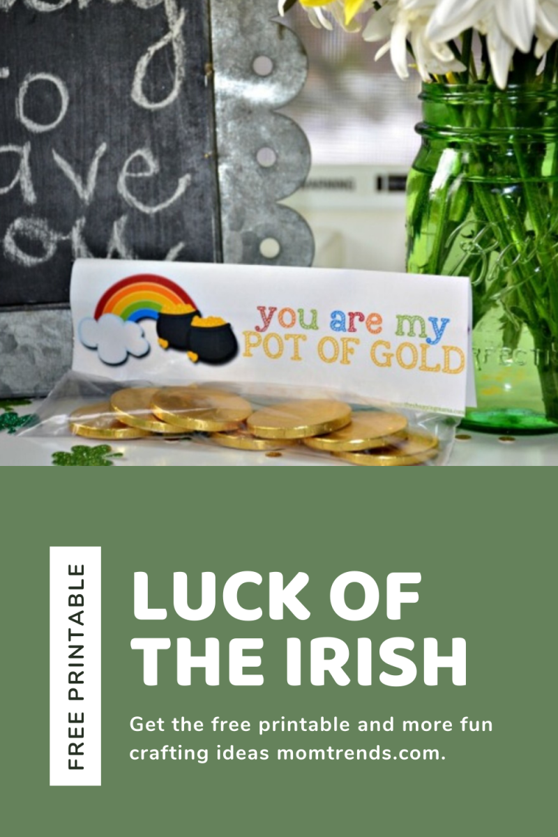 St. Patrick's Day Free Printable Luck of the Irish