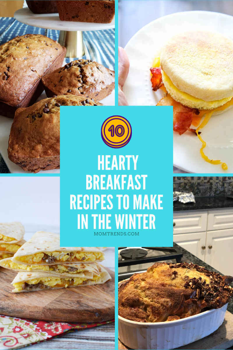 Top 10 Hearty Breakfast Recipes to Make in the Winter