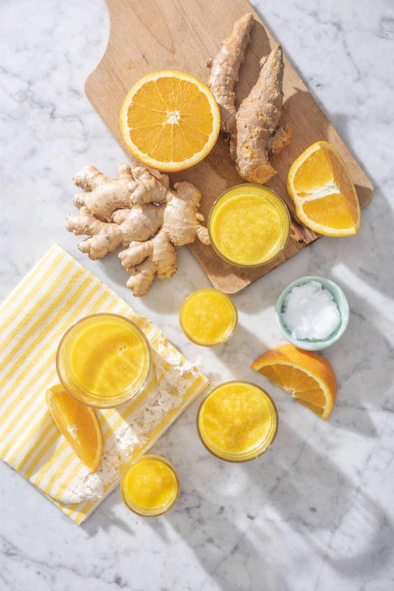 Immunity Boosting Shots Recipe