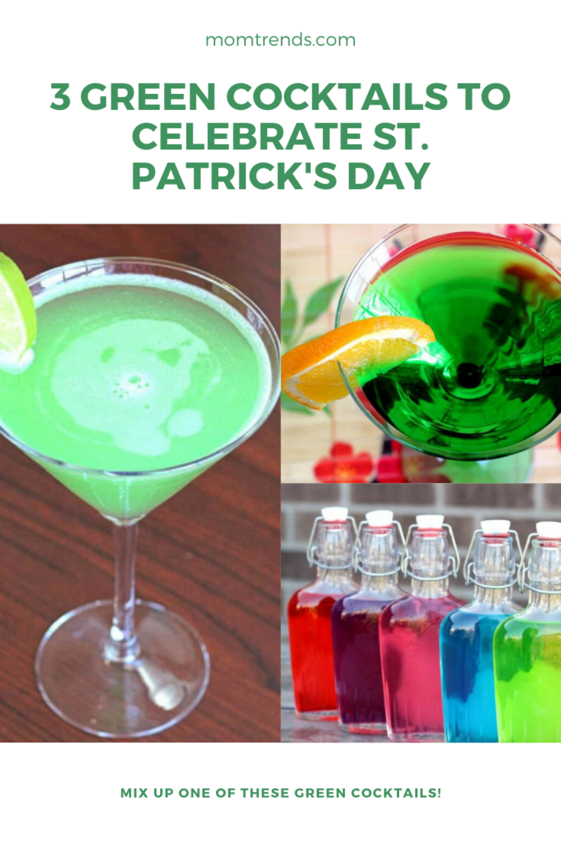 3 Green Cocktails to Celebrate St. Patrick's Day