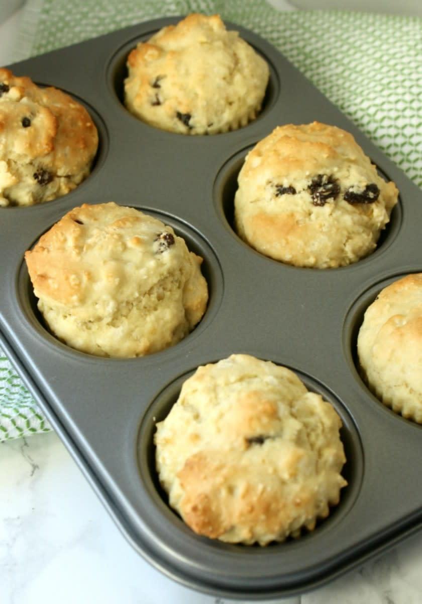 Delicious Irish Soda Bread Muffin Recipe
