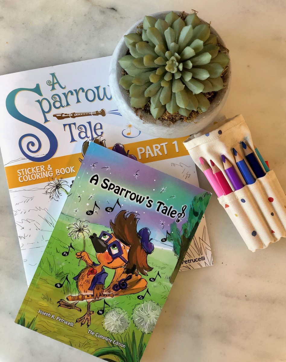 Why You Need This New Middle Grade Book Series: A Sparrow's Tale