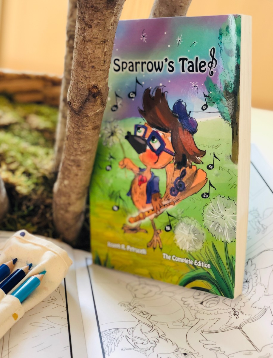 New Middle Grade Book A Sparrow's Tale