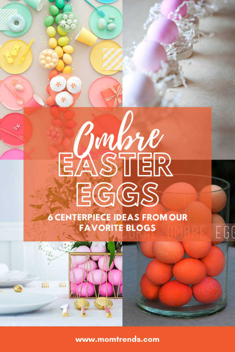 DIY Make an Ombre Easter Egg Centerpiece