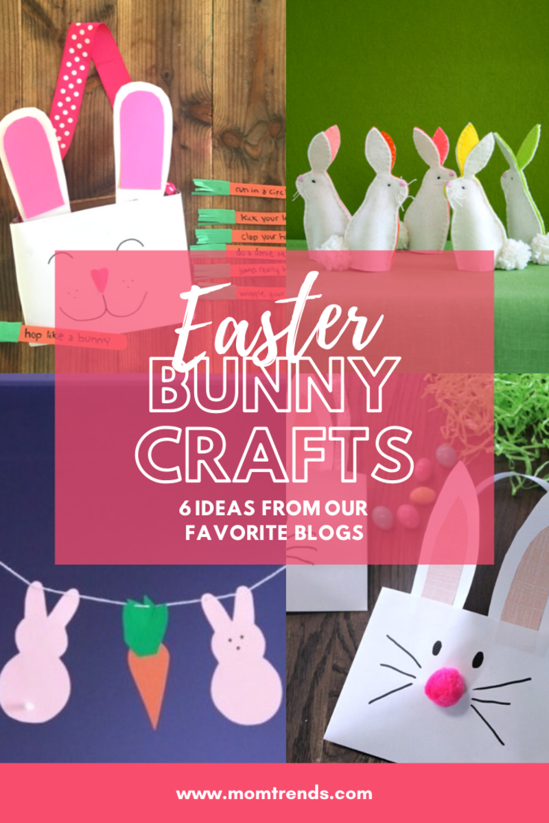 6 EASTER BUNNY CRAFTS IDEAS FOR KIDS