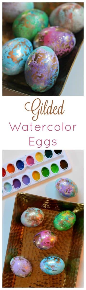Gilded Easter Eggs