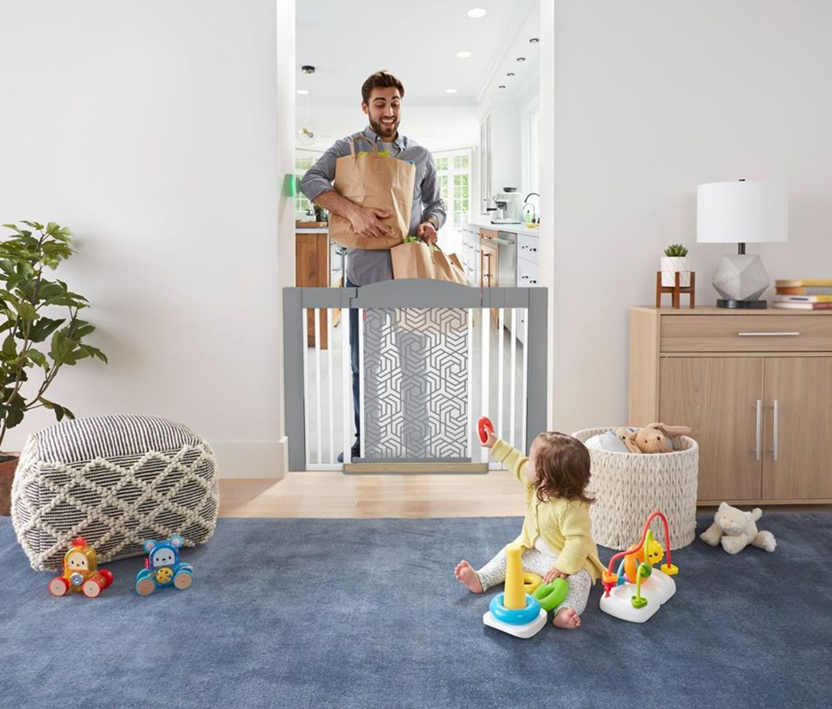 Best in Show: Fisher Price Click™ Hands-Free Baby Gate