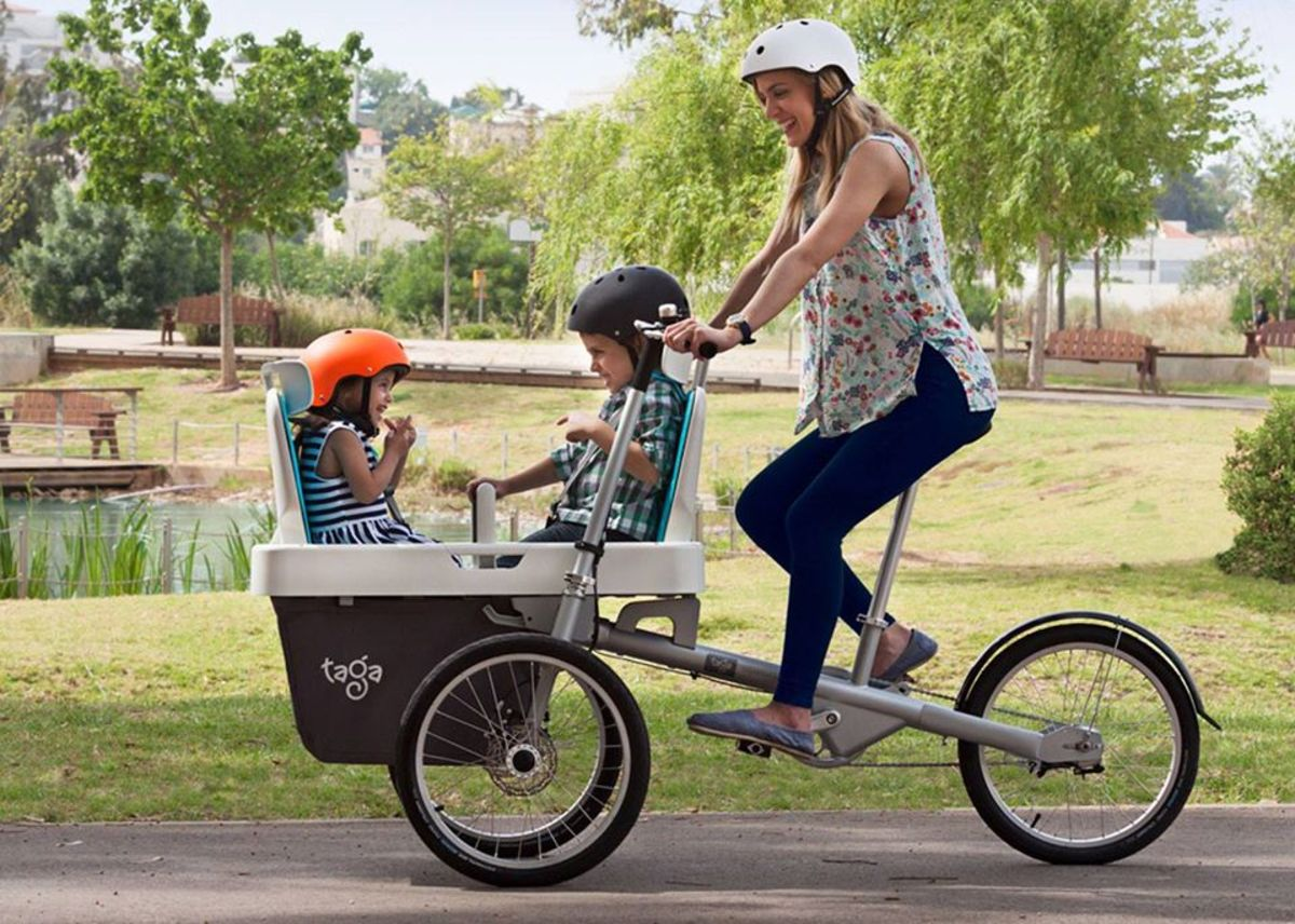 Best Bike for Carrying Children from Taga
