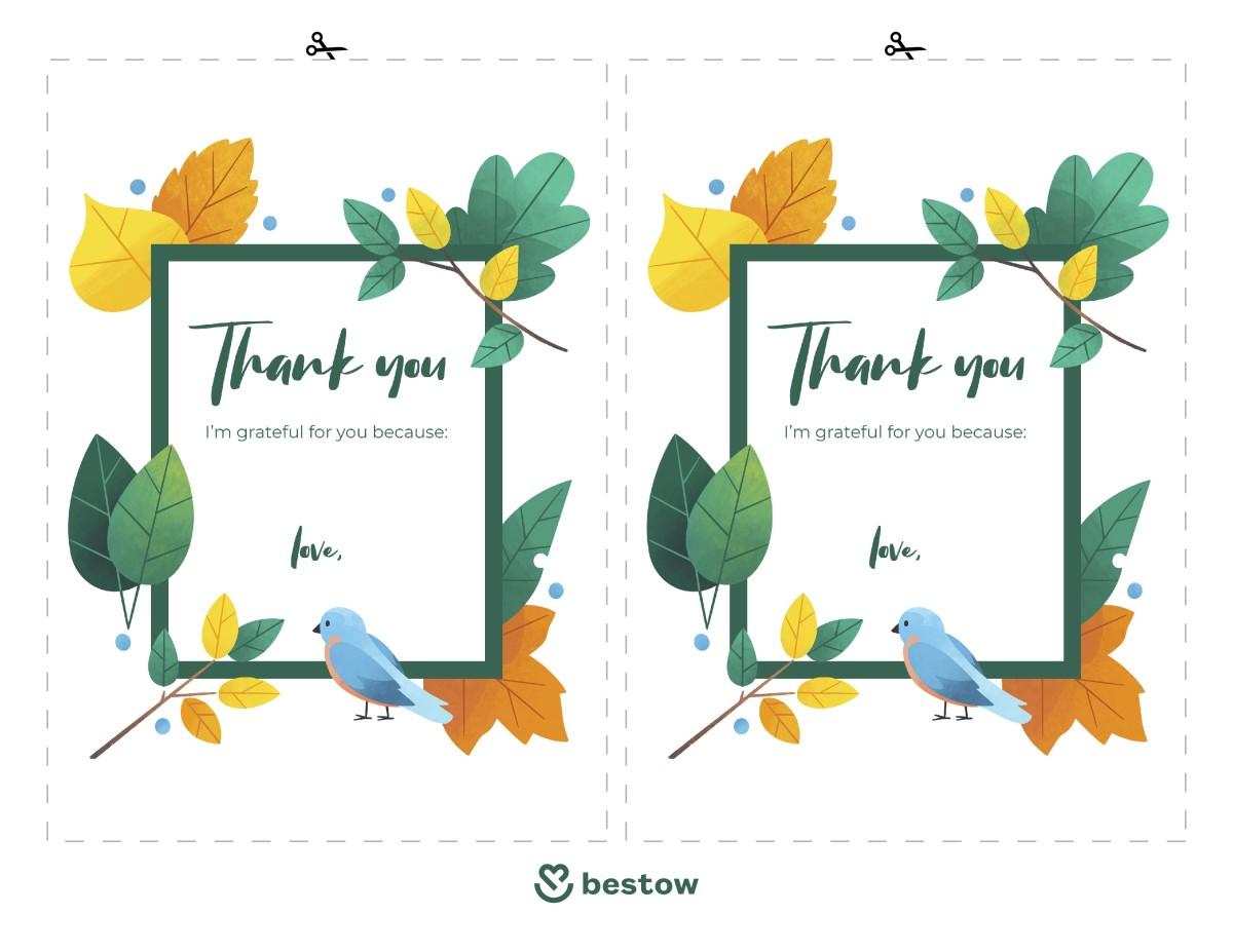 Gratitude Thank You Notes