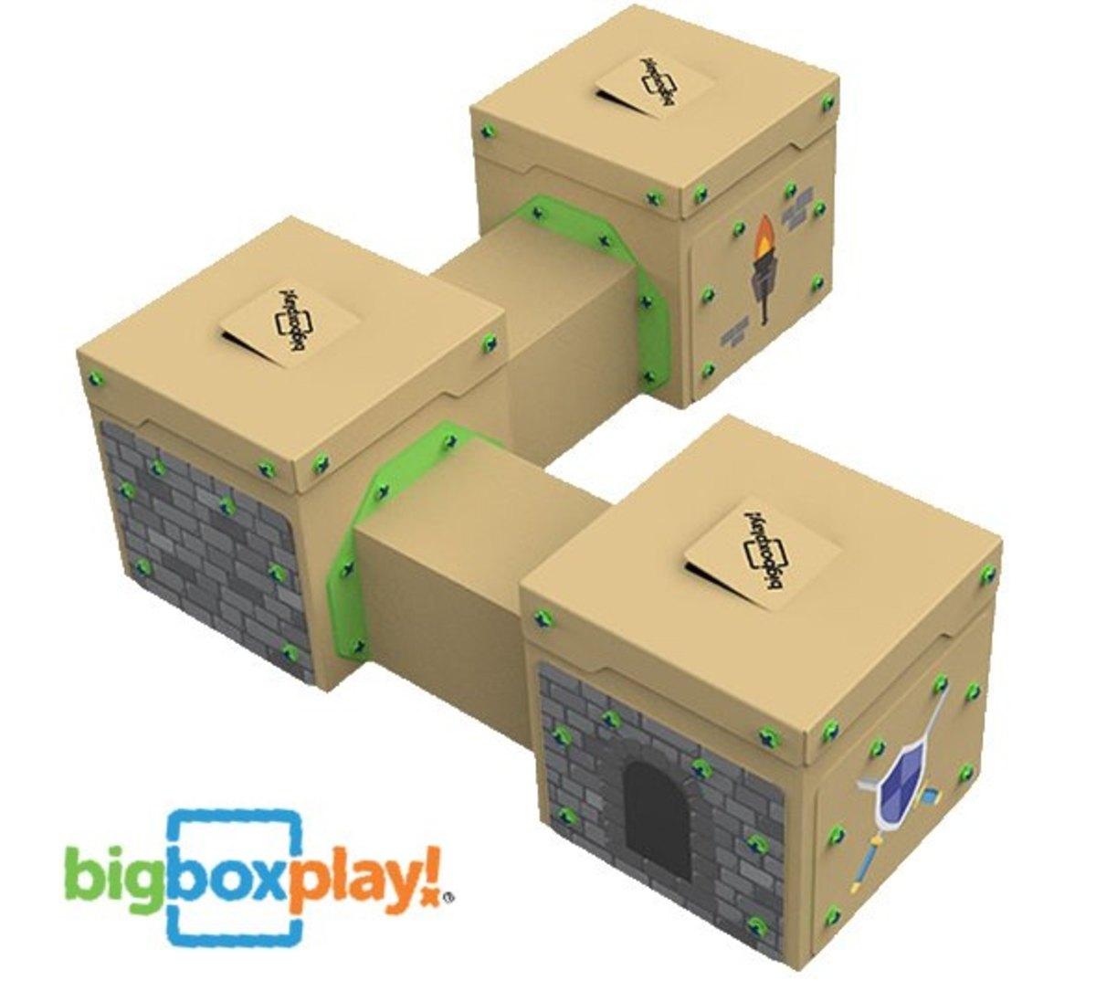 Unplugged Creative Play with Big Box Fun