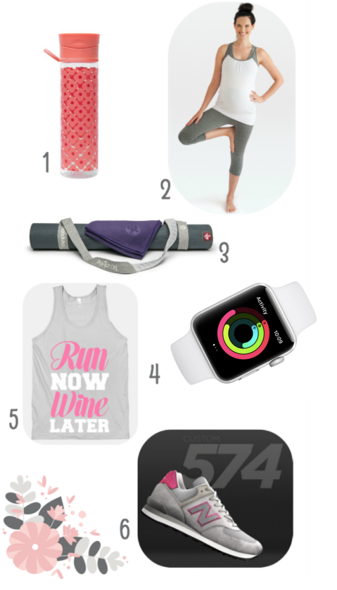 When you celebrate mom this year, consider one of these fitness finds to help her get her sweat on.