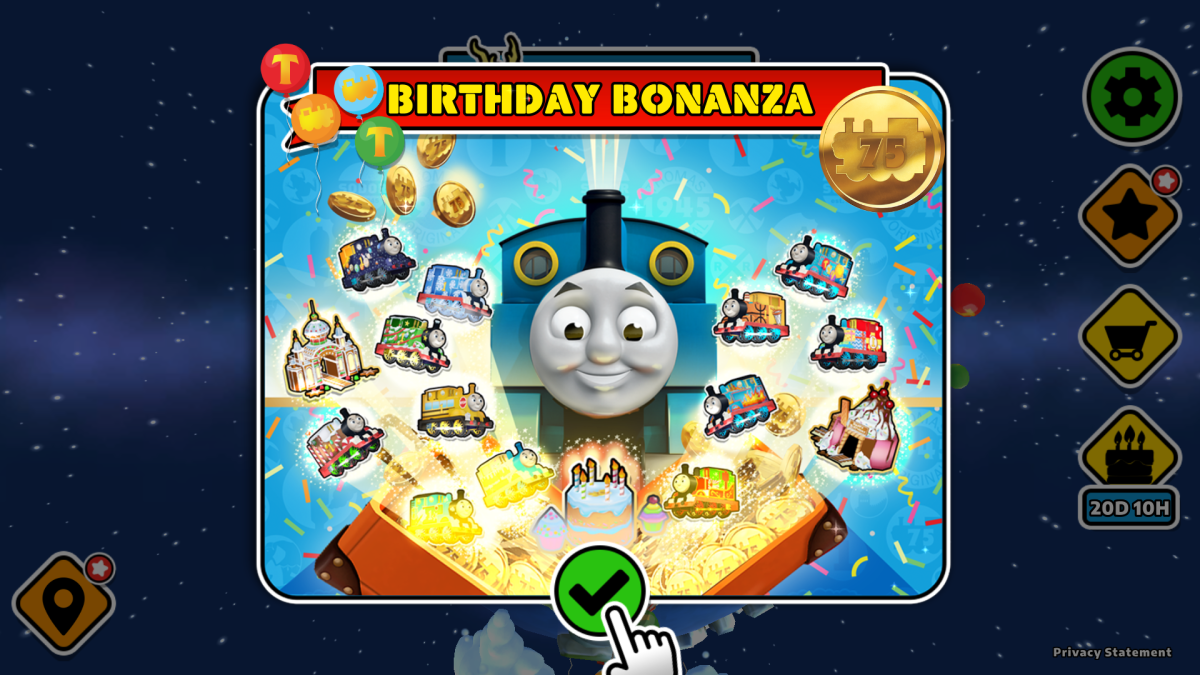 Ways to Celebrate Thomas' Birthday