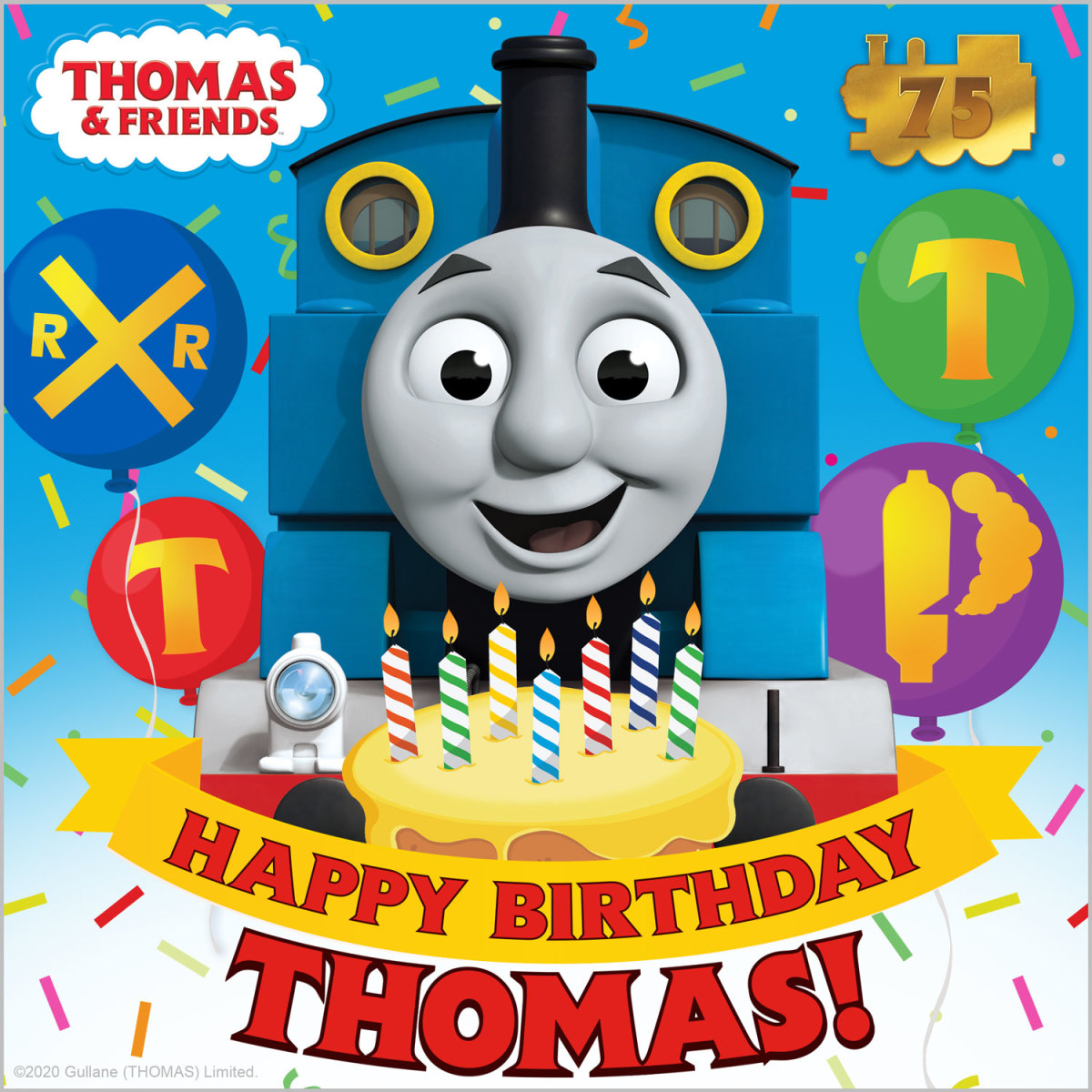 Thomas the Train Celebrates a Birthday