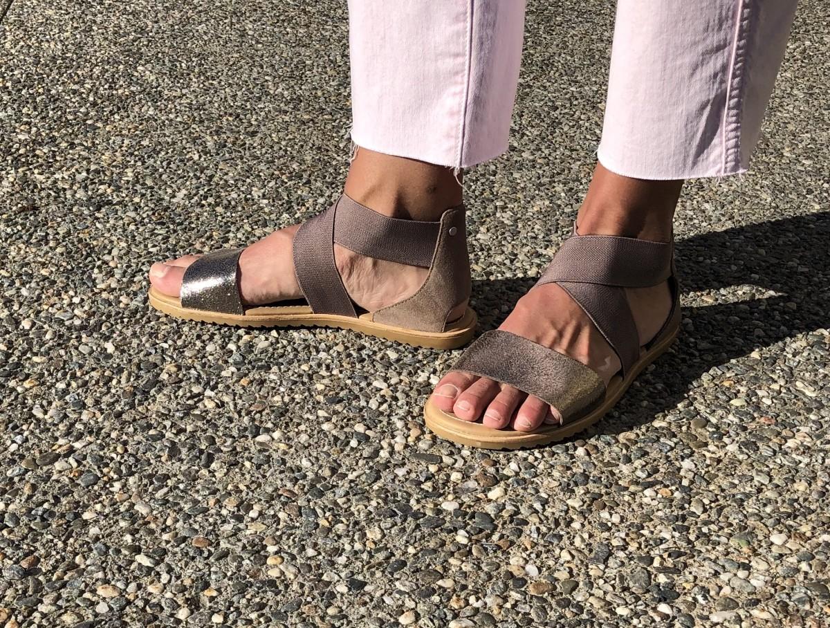 My Favorite Quarantine sandals