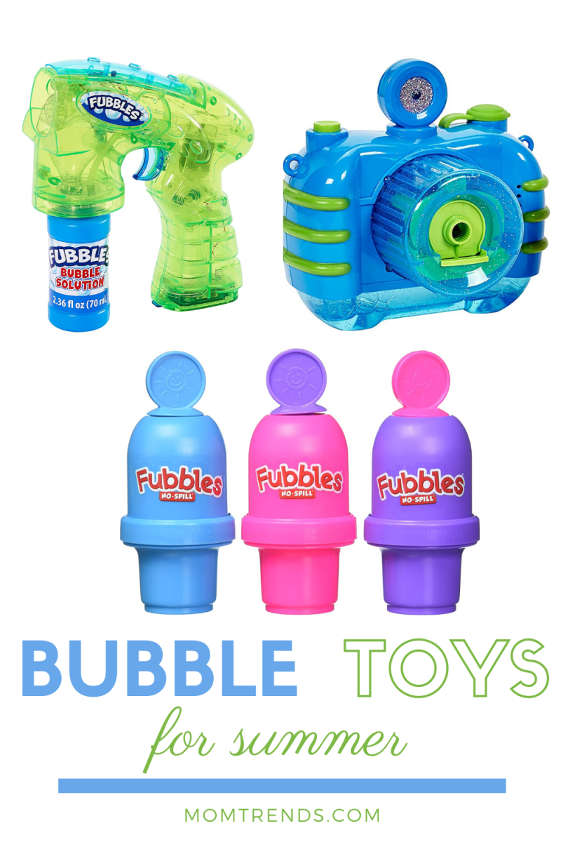 Three Cool Bubble Toys for Kids