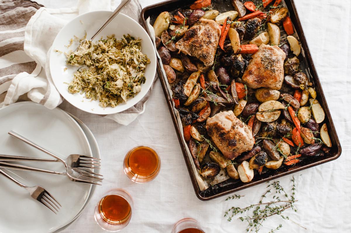 Roasted Sheet Pan Chicken and Veggies