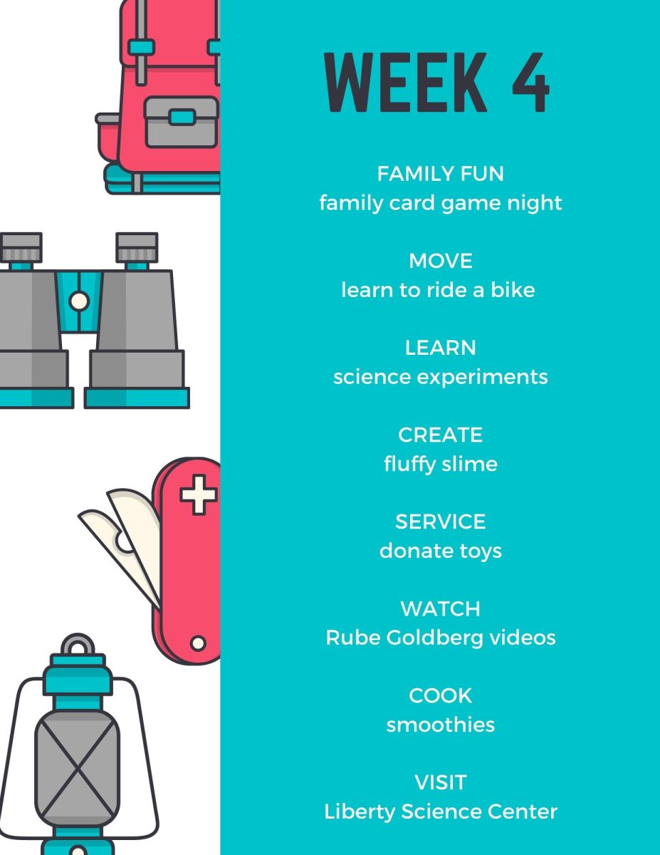 July Camp Mom Activities for Home