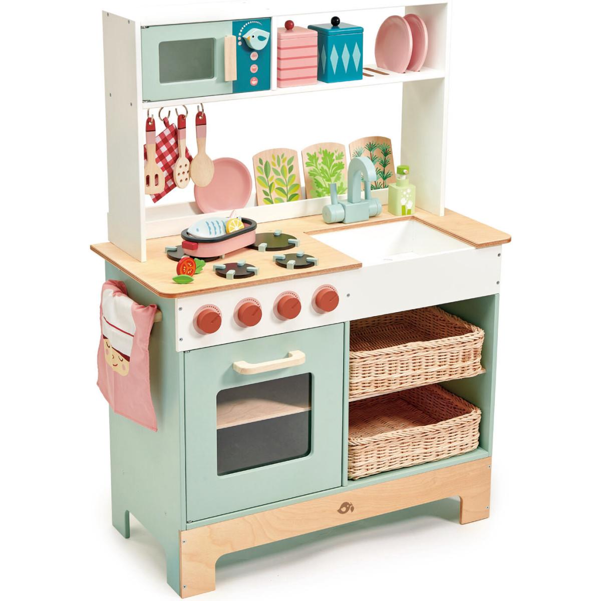 Best Nostalgic Wooden Play Kitchen