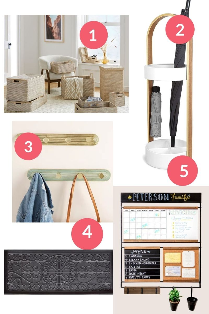 How to Organize Your Mudroom Or Entrance Way