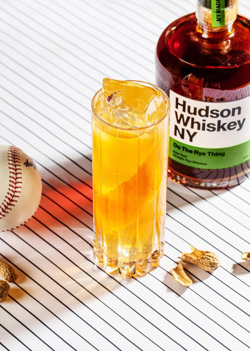 New York Ryeball_Hudson Whiskey