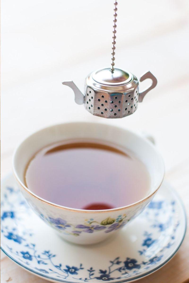 freshed brewed tea