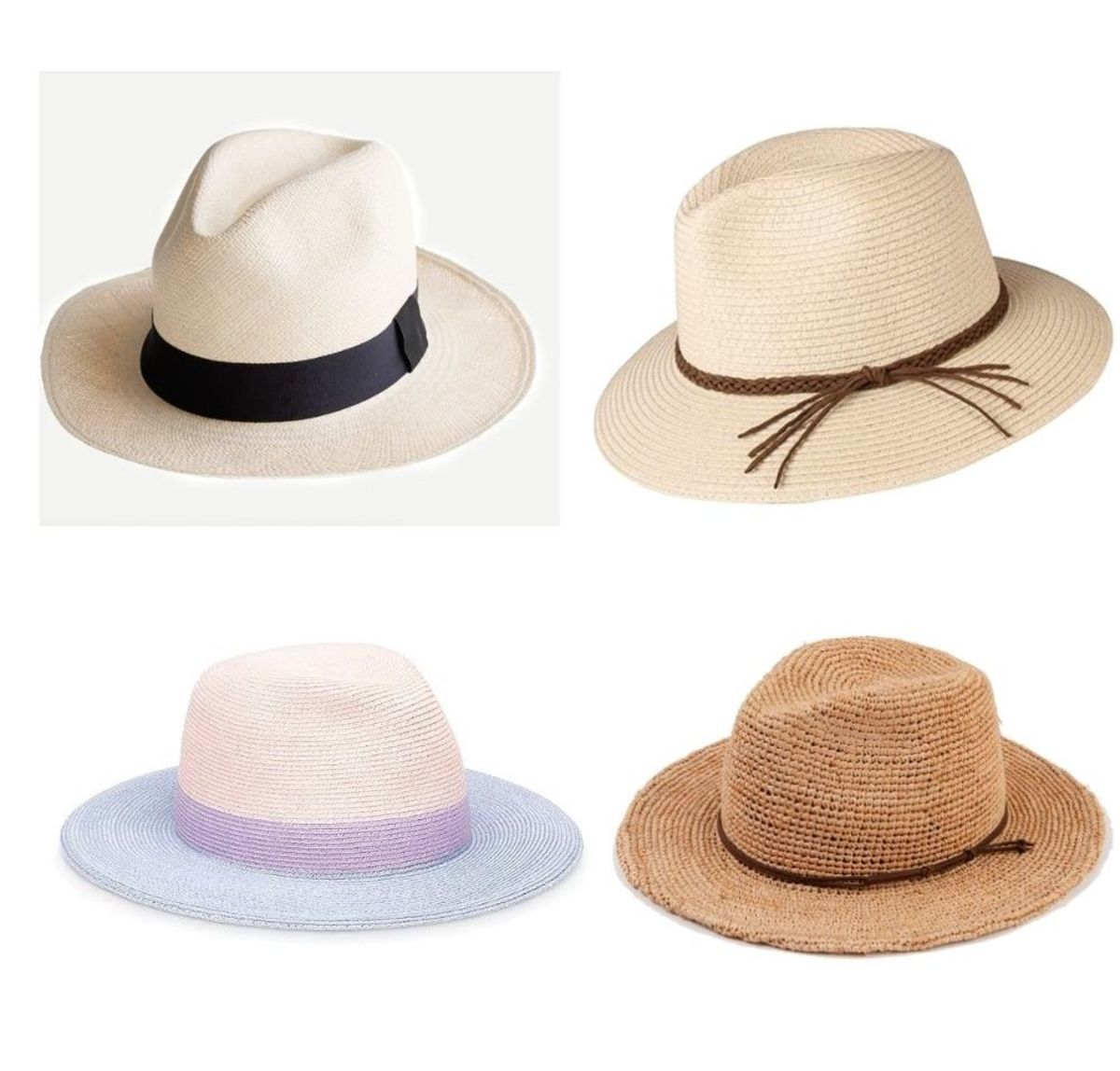 Cute Panama Hats to Get You Through Summer