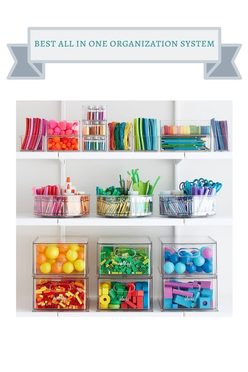 clear acrylic storage containers