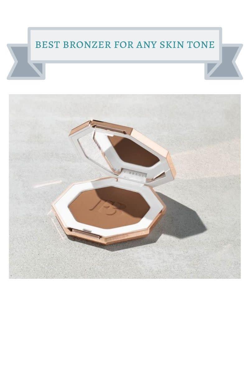 gold fenty bronzer compact
