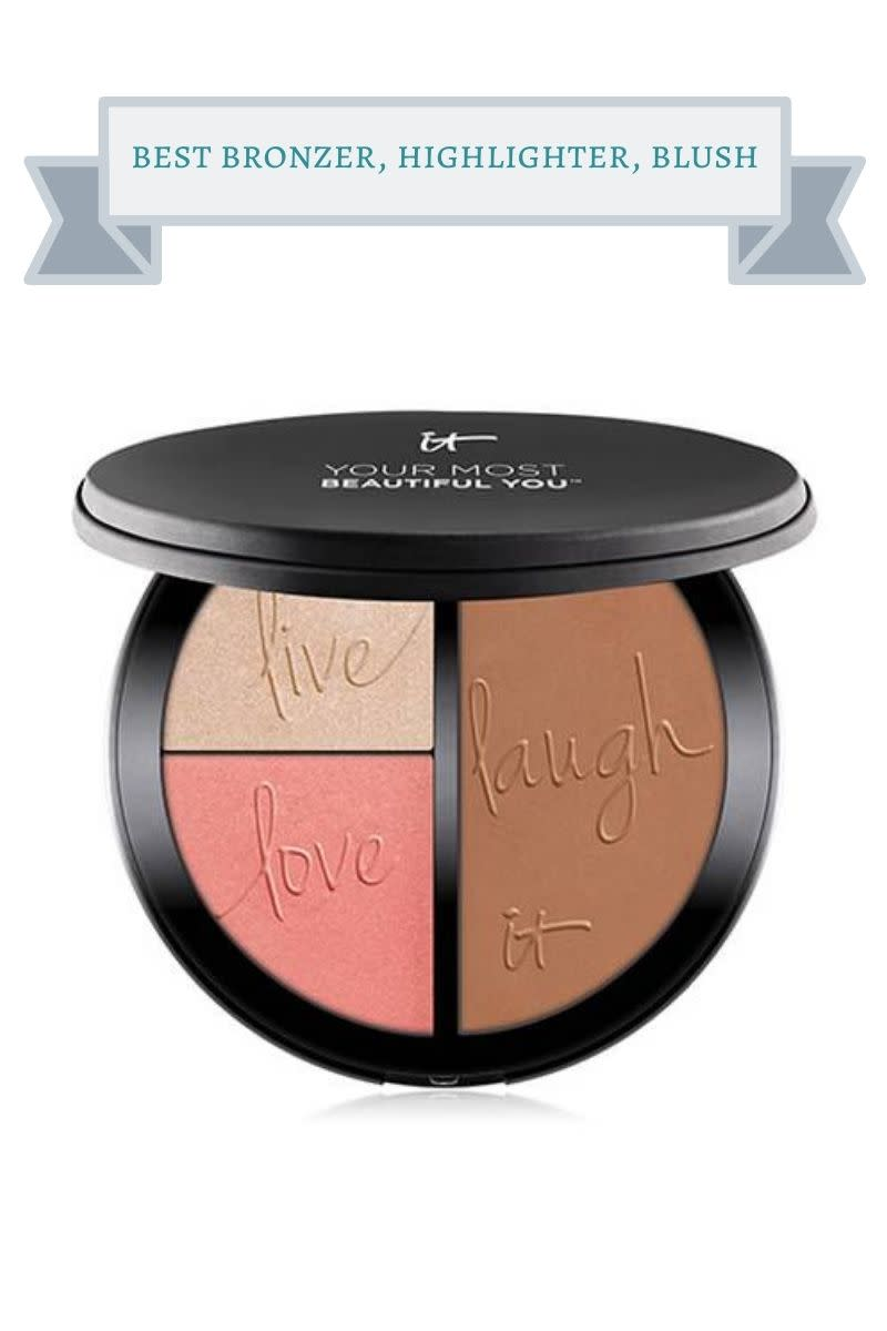 black It Cosmetics compact with bronzer, highlighter and blush