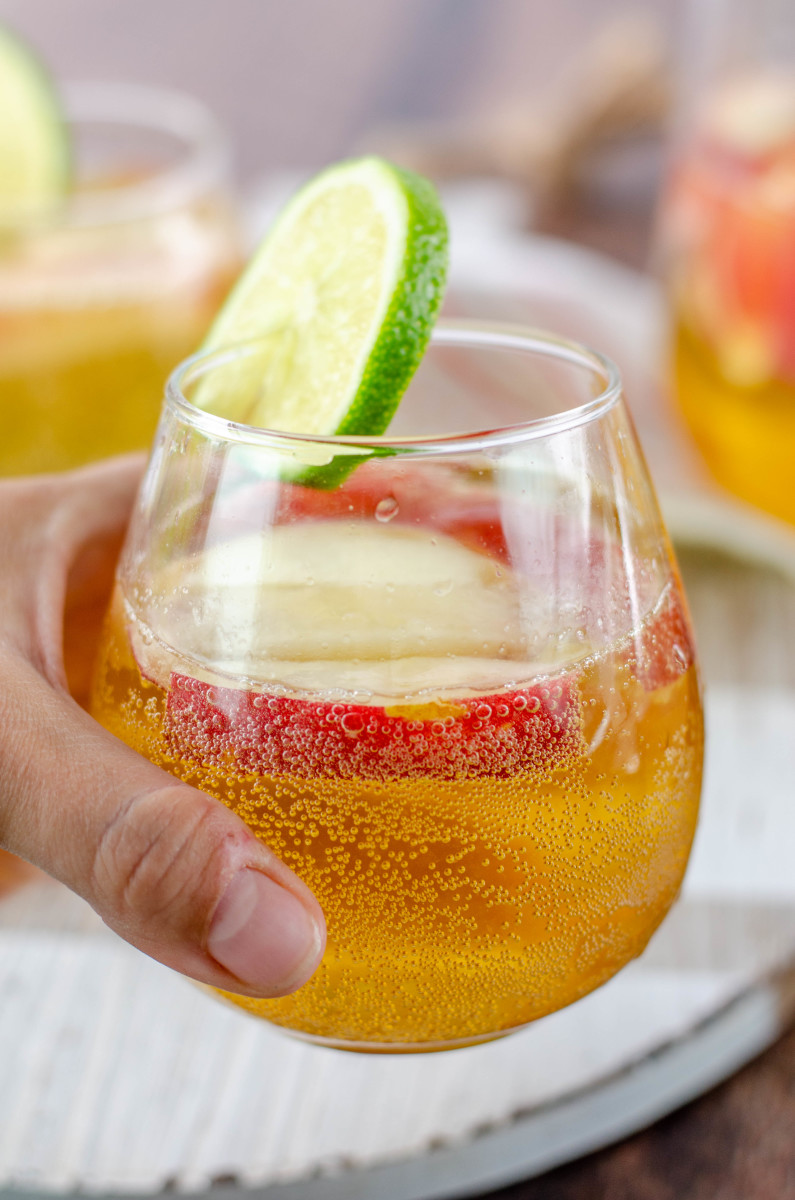 How I Make the Most Delicious White Sangria