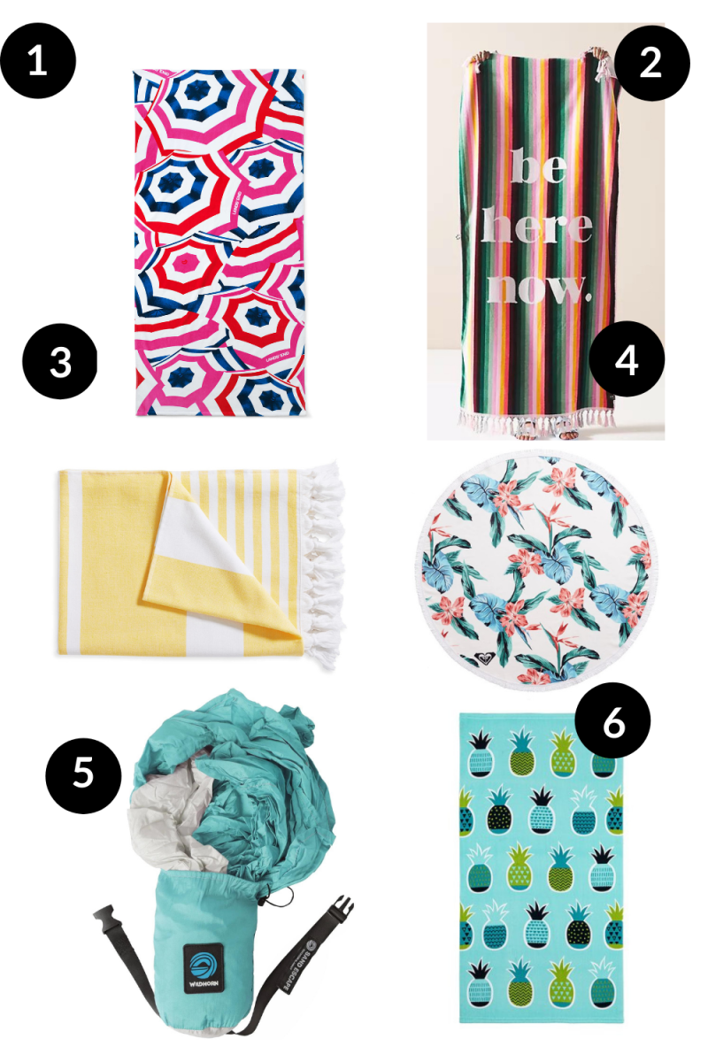 Our Favorite Beach Towels and Blankets For Families